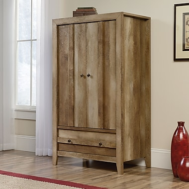 Sauder Dakota Pass Armoire, Craftsman Oak