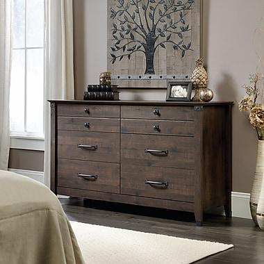 Sauder Carson Forge Dresser, Coffee Oak
