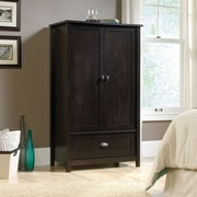 Sauder – Armoire County Line, noir Estate
