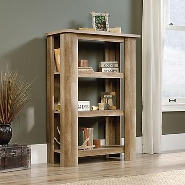 Sauder Boone Mountain 3 Bookcase, Craftsman Oak