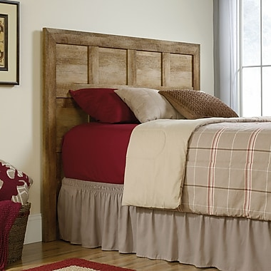Sauder Dakota Pass Full/Queen Headboard, Craftsman Oak