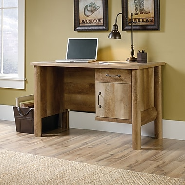 Sauder Boone Mountain Desk, Craftsman Oak