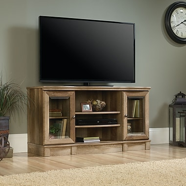 Sauder Regent Place TV Stand, Craftsman Oak