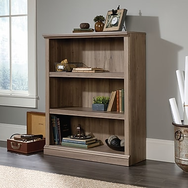 Sauder 3 Shelf Bookcase, Salt Oak