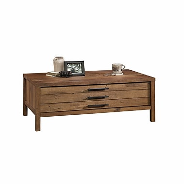 Sauder New Grange Coffee Table, Vintage Oak