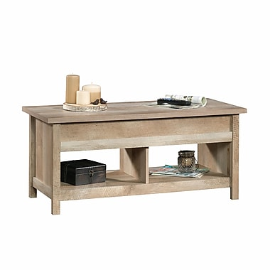 Sauder Cannery Bridge Lift Top Coffee Table, Lintel Oak