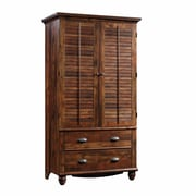 Sauder – Armoire Harbour View, cerisier durci
