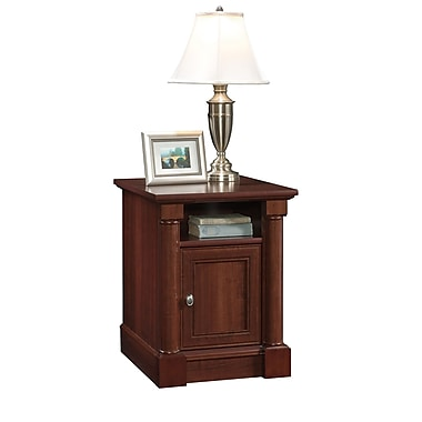 Sauder Palladia Side Table, Select Cherry