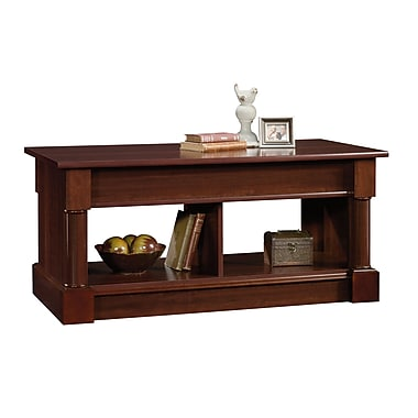 Sauder Palladia Lift-Top Coffee Table, Select Cherry