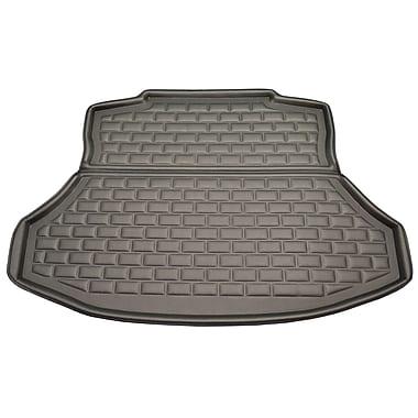 Findway – Tapis pour coffre F658 style 3D Cargo pour Honda Civic 2012 à 2015 et Acura ILX 2013 à 2017, noir (26090KB)