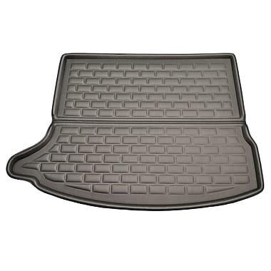 Findway - Tapis pour coffre F658 style 3D Cargo pour Mazda3 Hatchback 2014 à 2018, noir (40170KB)