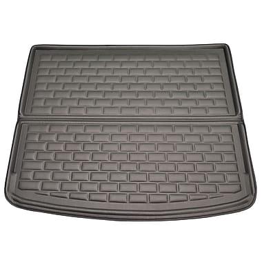 Findway - Tapis pour coffre F658 style 3D Cargo pour Porsche Cayenne 2011 à 2017, noir (52020KB)