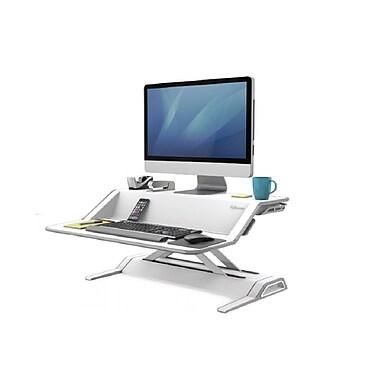 Fellowes® - Poste de travail assis/debout Lotus™, blanc (9901)