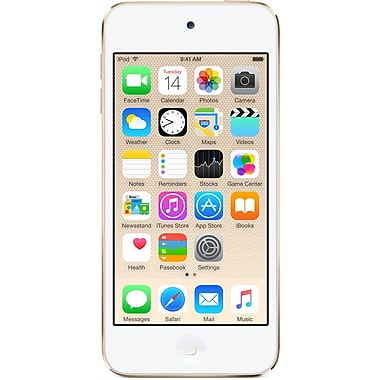 Apple – iPod Touch, 6e génération, 128 Go, or (MKWM2VC/A)