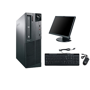 Lenovo - PC de table compact M91 SFF remis à neuf, 3,1 GHz Intel Core i3-2100, DD 1 To, 8 Go DDR3, Windows 10 Pro