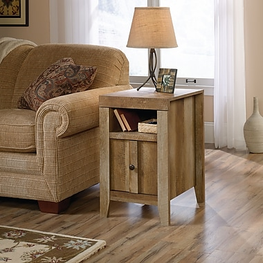Sauder Dakota Pass End Table, Craftsman Oak