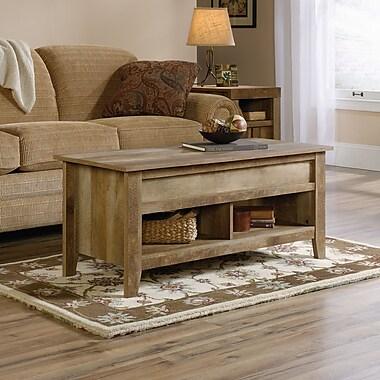 Sauder Dakota Pass Lift Top Coffee Table, Craftsman Oak