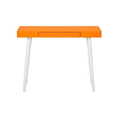Pangea Home Ava Writing Desk; Orange