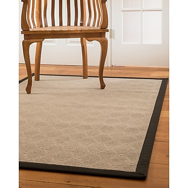 Natural Area Rugs Lancer Hand-Woven Beige Area Rug; 5' x 8'