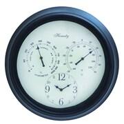 Cole & Grey Metal Outdoor 16'' Wall Clock