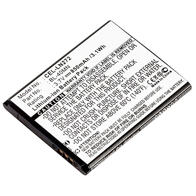 Ultralast Cellular Phone Li-ion Battery for LG (CEL-LN272)