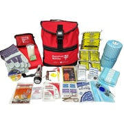 First Aid Central 2 Person 72 Hour Emergency Survival Kit, Deluxe