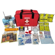 First Aid Central 3 Person 72 Hour Emergency Survival Kit, Deluxe