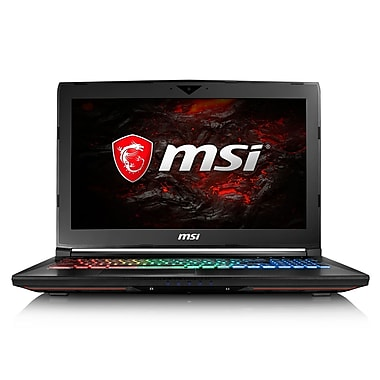 MSI-Portatif de jeu DOMINATOR GT62VR 7RE-249CA 15,6po VR-Ready, 2,8GHz Intel Core i7-7700HQ, DD 1To + 256Go SSD, 16 Go, GTX1070