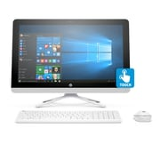 HP - PC de table tout-en-un V8P28AA#ABA, 21,5 po, 1,6 GHz Intel Pentium J3710, DD 1 To, 8 Go DDR3L, Windows 10