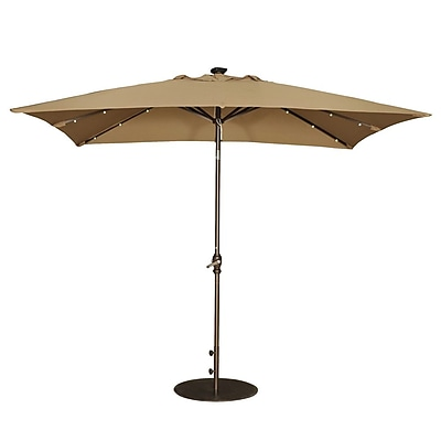 Abba Patio 7' x 9' Rectangular Market Umbrella WYF078279761491