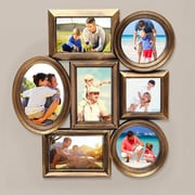 AdecoTrading 7 Opening Plastic Picture Frame