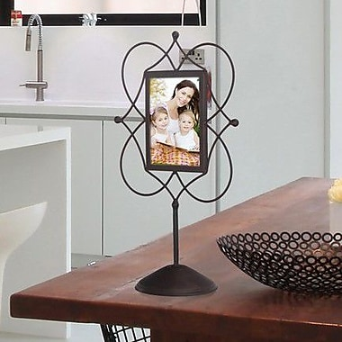 AdecoTrading Decorative Iron Metal Wall Hanging Collage Picture Frame