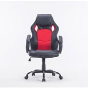 Newacme LLC MCombo High-Back Executive Chair; Red/Black