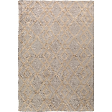 Artistic Weavers Silk Valley Lila Hand-Tufted Gray Area Rug; 5' x 7'6''