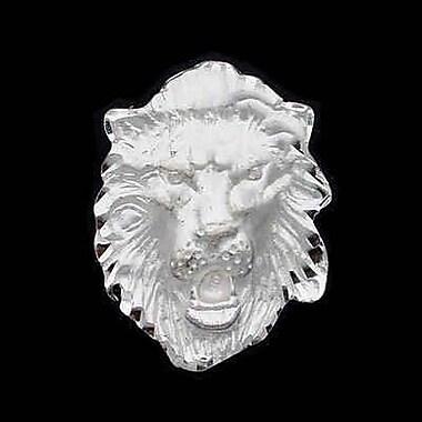 House of Jewellery – Breloque d'animal en argent sterling taillée au diamant, lion (JB276)
