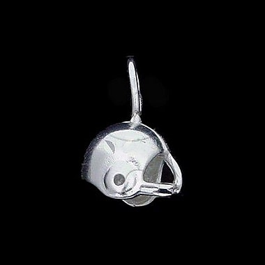 House of Jewellery Sterling Silver Diamond Cut Sports Charm, Football (JB416)