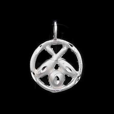 House of Jewellery Sterling Silver Diamond Cut Sports Charm, Bowling