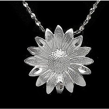 House of Jewellery – Breloque florale en argent sterling à taille de diamant (C4369)