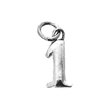House of Jewellery Sterling Silver Number 1 Charm