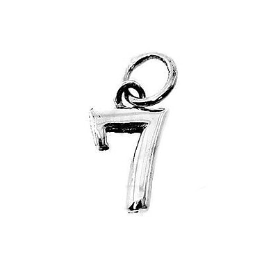 House of Jewellery Sterling Silver Number 7 Charm