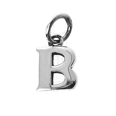 House of Jewellery Sterling Silver Letter B Alphabet Charm