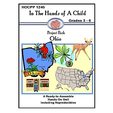 In The Hands of A Child Ohio Geography Workbook, Grade 3 - Grade 6 [eBook]