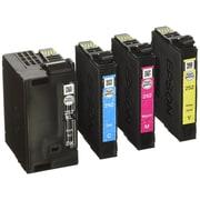 Epson - Cartouches d'encre DuraBrite Ultra T252XL-BCS noir - haut rendement et Cyan/Magenta/jaune - rendement standard, paq./4