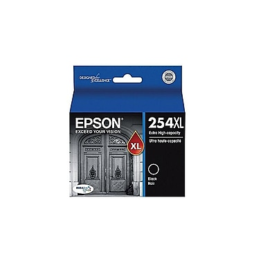 Epson DURABrite Ultra 254XL Extra High-Capacity Ink Cartridge, Black