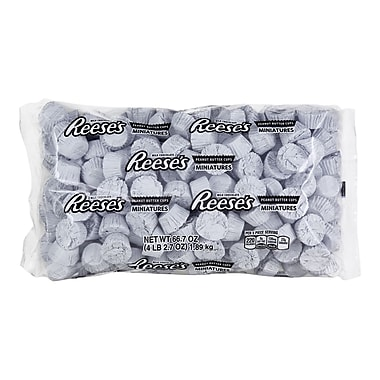 REESE'S Miniatures, White, 66.7 Ounces