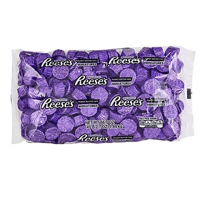 REESE'S Miniatures, Purple, 66.7 Ounces