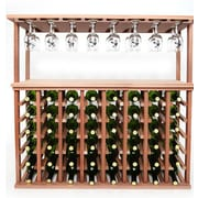 Wineracks.com 48 Bottle Floor Wine Rack; Mahogany
