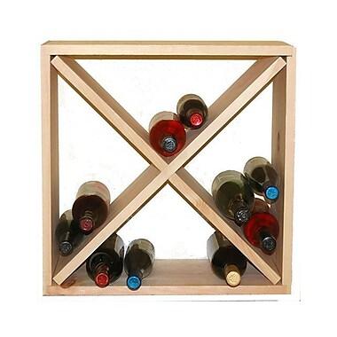 Wineracks.com 24 Bottle Floor Wine Rack; Pine