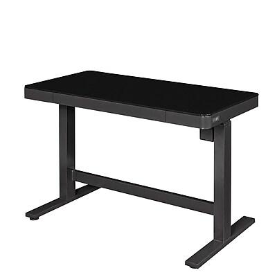 Wildon Home Adjustable Standing Desk Black Staples