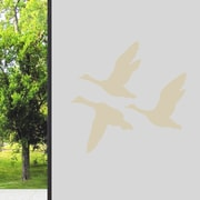 SweetumsWallDecals Flying Ducks Wall Decal; Beige